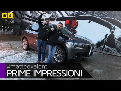 Alfa Romeo STELVIO piacere di guida TOP Primo test ENGLISH SUB