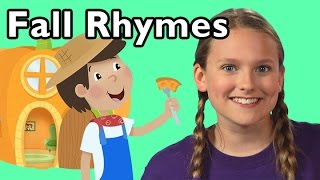 Peter, Peter, Pumpkin Eater and More Rhymes About Fall | Nursery Rhymes from Mother Goose Club!