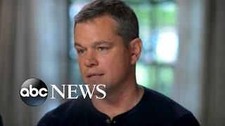 George Clooney, Matt Damon respond to Weinstein allegations