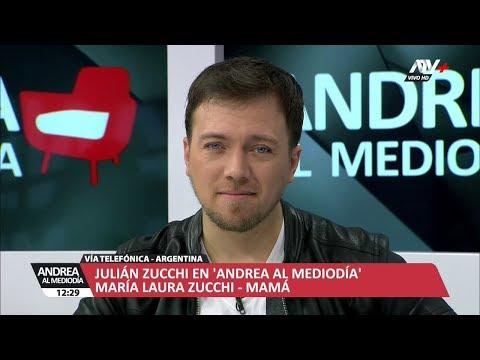 ANDREA AL MEDIODIA - JULIAN ZUCCHI - 18/06/18 - LUNES 18 DE JUNIO DEL 2018