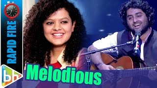 Palak Muchhal's MELODIOUS Rapid Fire On Arijit Singh | Shraddha Kapoor | Salman Khan