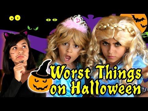 10 Worst Things on Halloween GEM Sisters