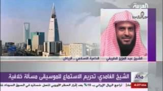 ماذا قال الشيخ الطريفي لمذيعة قناة العربية حينما اتصلت به تسأله عن الاختلاط والغناء والحجاب ؟