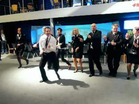 John Travolta of FMC dancing @ ONS2010