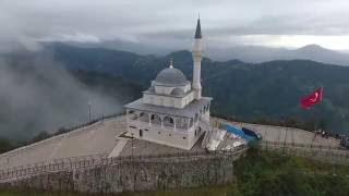 rize kıble dağı dron çekim