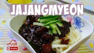 Resep jajangmyeon | mie saus kedelai hitam korea