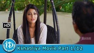 Kshatriya Movie Part 1/12 - Srikanth, Kumkum