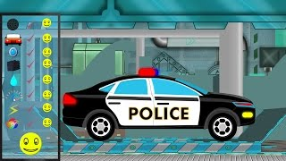 Police Car | Police Car Repair | Car Garage | Car Repair | kids videos