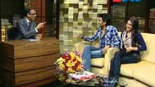 Komal Nahta with Riteish & Genelia Deshmukh