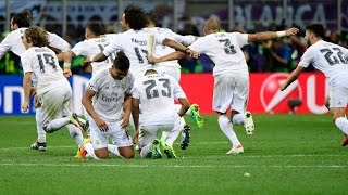 Real Madrid vs Atletico Madrid 1-1 (5-4) Penalty Shootout UCL FINAL 2016