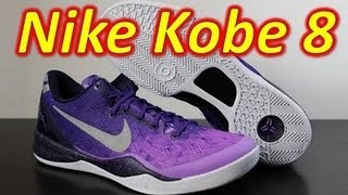 Nike Kobe 8 Purple Gradient - Review + On Feet