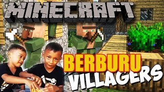 Minecraft BERBURU VILLAGER BRO
