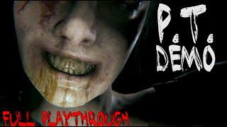 PT / Silent Hills Demo - Full Playthrough 1080p PS4 Teaser Walkthrough