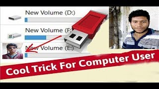 Set Your Photo On USB Pen drive or Hard Disk | Cool Trick For Computer User