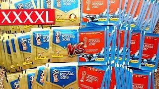 WM 2018 vs CONFED CUP 2017 XXXXL UNBOXING BATTLE 😱🔥