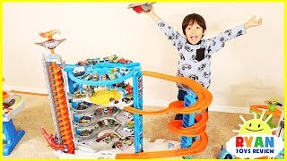 Biggest Hot Wheels Super Ultimate Garage Playset with Ryan