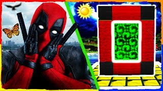 Minecraft Deadpool - How to Make a Portal to DEADPOOL DIMENSION