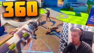 360 TOMAHAWK KILL!! Black Ops 3 (ChainSaw Melee Only) | TBNRKENWORTH