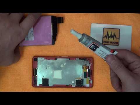 Замена модуля телефона своими руками 82