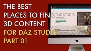 The Best Places to Find 3D Content for DAZ Studio - Part 01