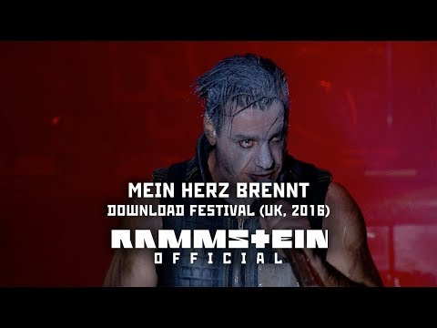 Xxx Mp4 Rammstein Mein Herz Brennt Live At Download Festival UK 2016 3gp Sex