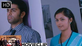 72 Model | Malayalam Movie 2013 | Romantic Scene Govind Padmasoorya With Nazreen Nazar [HD]