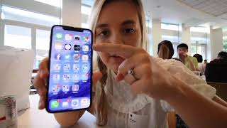 Hands-On Space Grey iPhone X (found on YouTube - Brooke Peterson)