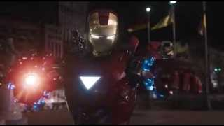 Iron Man and Captain America vs Loki