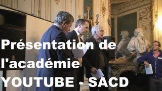 L'académie Youtube SACD (Blog226)
