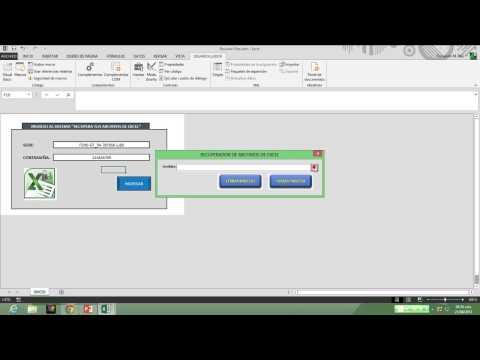 Recupera Projectos VBA de Excel