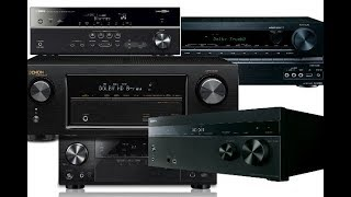 My picks for Best Home Theater Receivers 2018