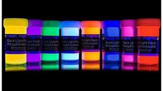 Zeichnen mit Neon Lights Farben