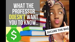 College Textbook TRICKS - How I Got FREE & Super CHEAP Textbooks Saving $100s | ESP Daniella
