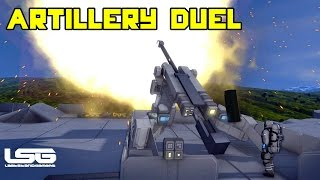 Space Engineers - Artillery Duel 1v1