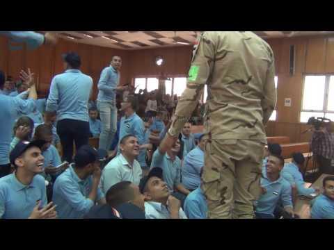 مصر العربية طلاب عين شمس يستقبلون ندوة مواجهة الارهاب بالرقص والهتافات