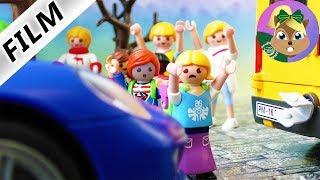 عائلة الطيور: ! جوليان ينقذ طفلة من حادث سيارة اليم -بلايموبيل فيلم