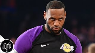 Zach Lowe goes off on Lakers injury talk: 'Why do the Lakers get to whine?' | The Jump