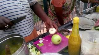 Indian Street Food l Tasty Raw Mango Guava  Water apple pickle l Special Aam Payara Jamrul Makha