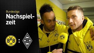 Interview mit Aubameyang feat. Reus | BVB - Borussia Mönchengladbach 4:1