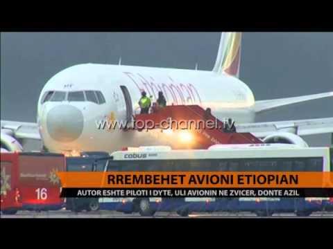 Rrëmbehet avioni etiopian Top Channel Albania News Lajme