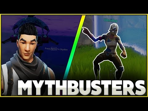 Will Dancing Change Your Hitbox Fortnite Mythbusters Fortnite Battle Royale