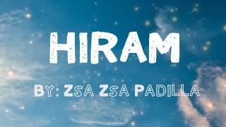 HIRAM by: Zsa Zsa Padilla
