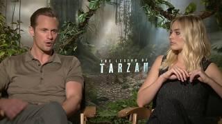 The Legend of Tarzan Interview - Margot Robbie & Alexander Skarsgard