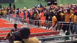 Chiefs fans destroying nfb stadium after 3-0 defeat