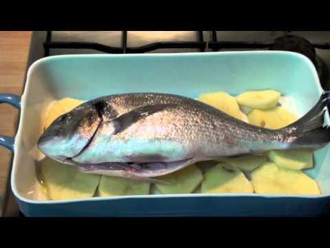 How to make fish - Orata al forno ITALIAN RECIPES
