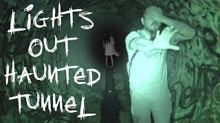 LIGHTS OUT CHALLENGE IN HAUNTED FAZE RUG TUNNEL   WARNING! DO NOT ATTEMPT   OmarGoshTV