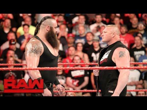Braun Strowman puts Brock Lesnar on notice: Raw, April 3, 2017
