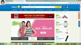 How to shopping Flipkart at Home cash on delivery hindi