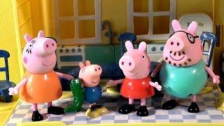 Видео для детей Свинка Пеппа и Загородный Домик - House Peppa Pig
