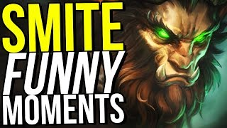 CERNUNNOS IS MY NEW FAVORITE GOD! - SMITE FUNNY MOMENTS